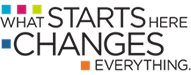 What Starts Here Changes Everything logo